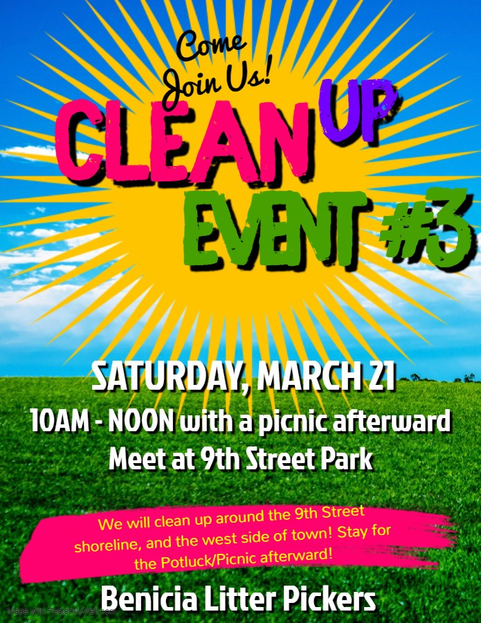 Benicia Cleanup - March 21